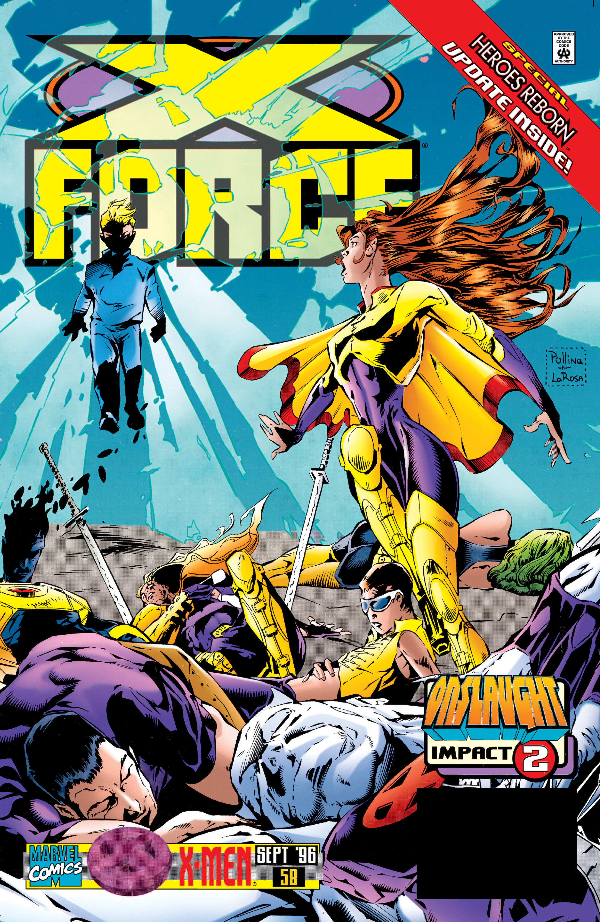 X-Force (1991) 58 Page 1