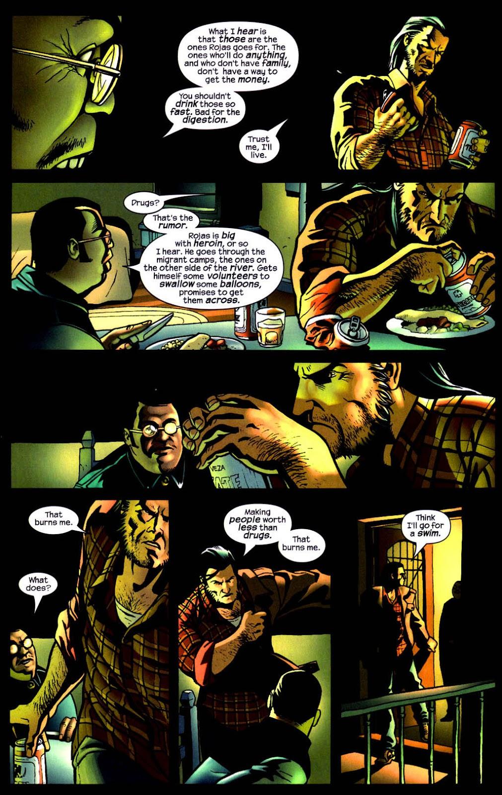 Read online Wolverine (2003) comic -  Issue #8 - 20