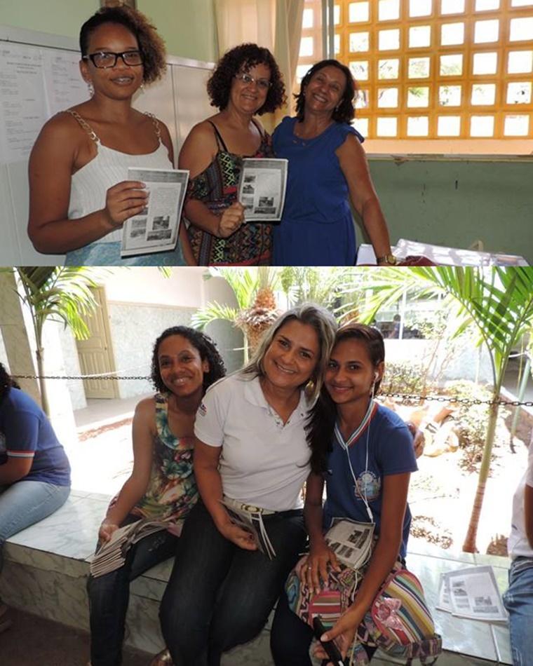 Ceep em Gestão e Negócios de Jacobina elabora jornal sobre projetos de 2016