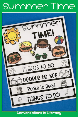 Summer Time writing activities for the classroom