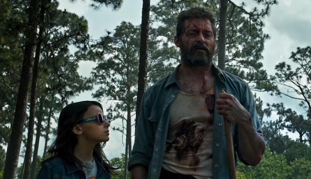 Logan - Dafne Keen, Hugh Jackman 2
