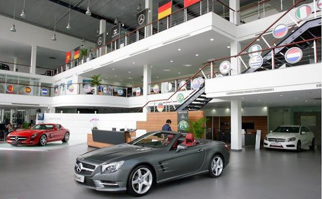 Mercedes Phú Mỹ Hưng có thể tổ chức các sự kiện hơn 800 khách.