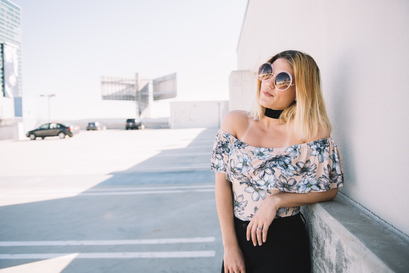 Clayton Eva Off the Shoulder Bodysuit