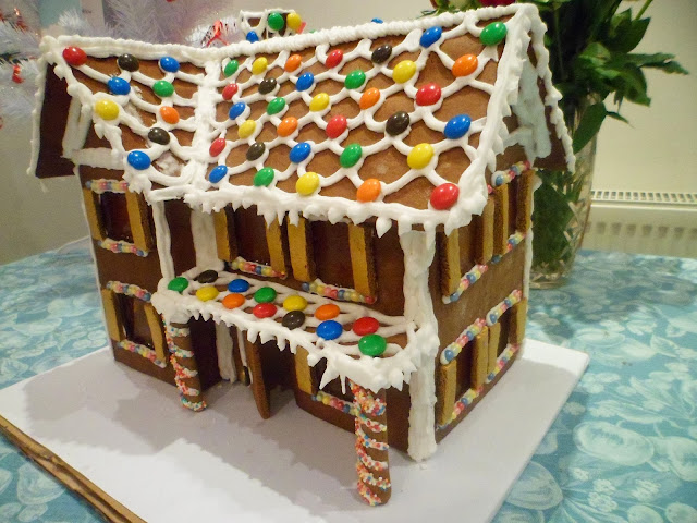 christmasgingerbread house