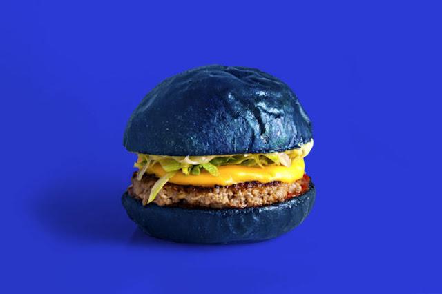 Colette blue burgers