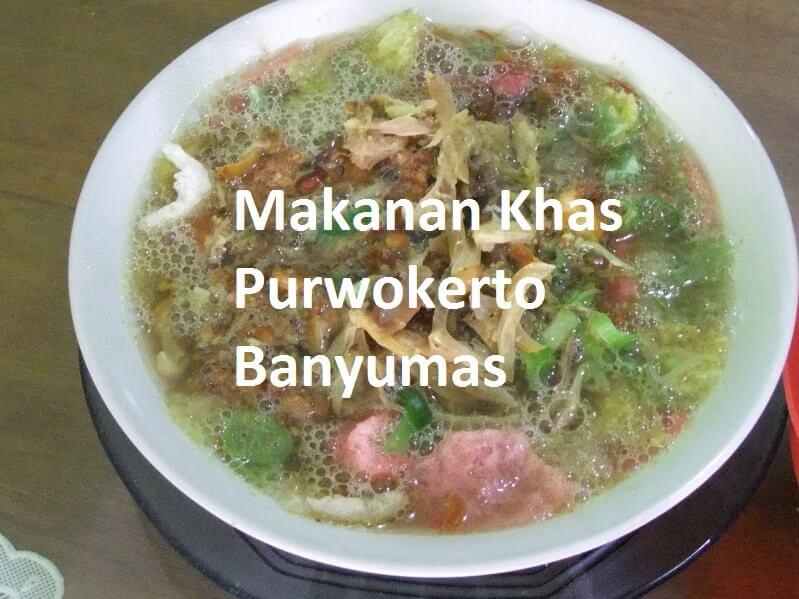 makanan khas purwokerto banyumas