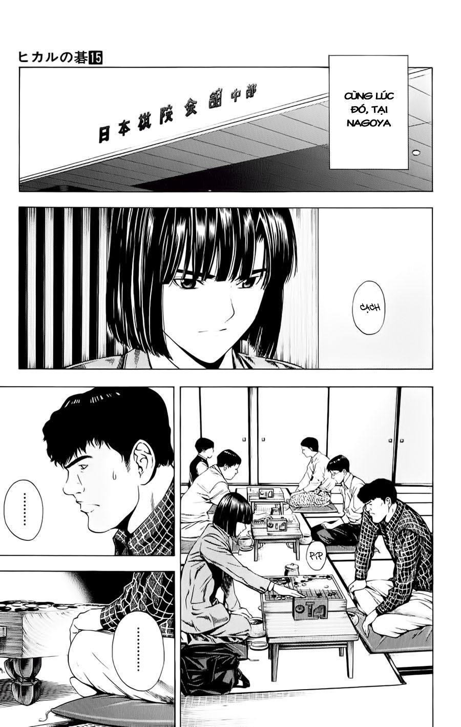 Hikaru No Go hikaru no go chap 122 trang 10