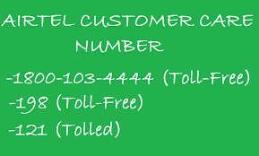 Airtel Customer Helpline Number