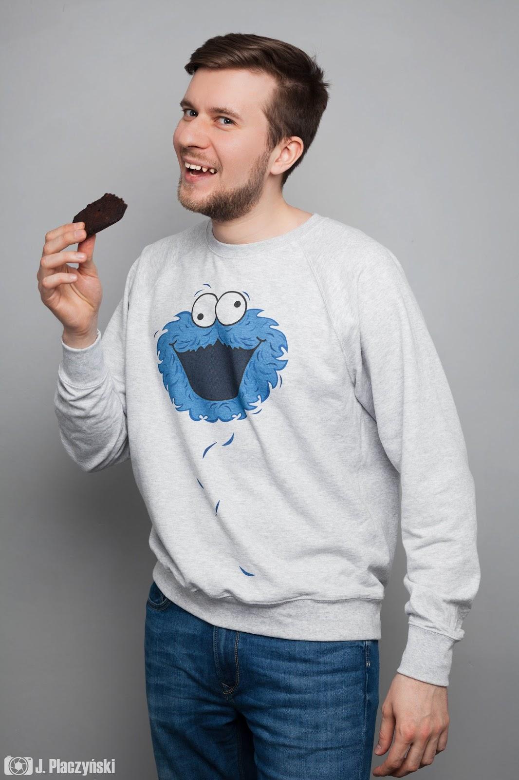 cookie monster ciasteczkowy potwor pomyslowe bluzy dla par i dla zakochanych chlopak dziewczyna prezent walentynki