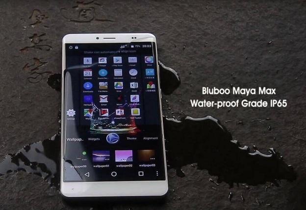 Spesifikasi Lengkap Smartphone Bluboo Maya Max Luas Layar 6 Inci Tahan Air