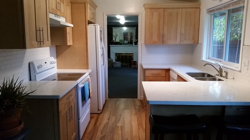 rustic hickory wood floors 5050 kitchen remodel