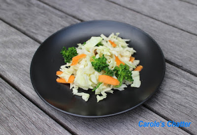 Carole's Chatter: Home Grown Slaw