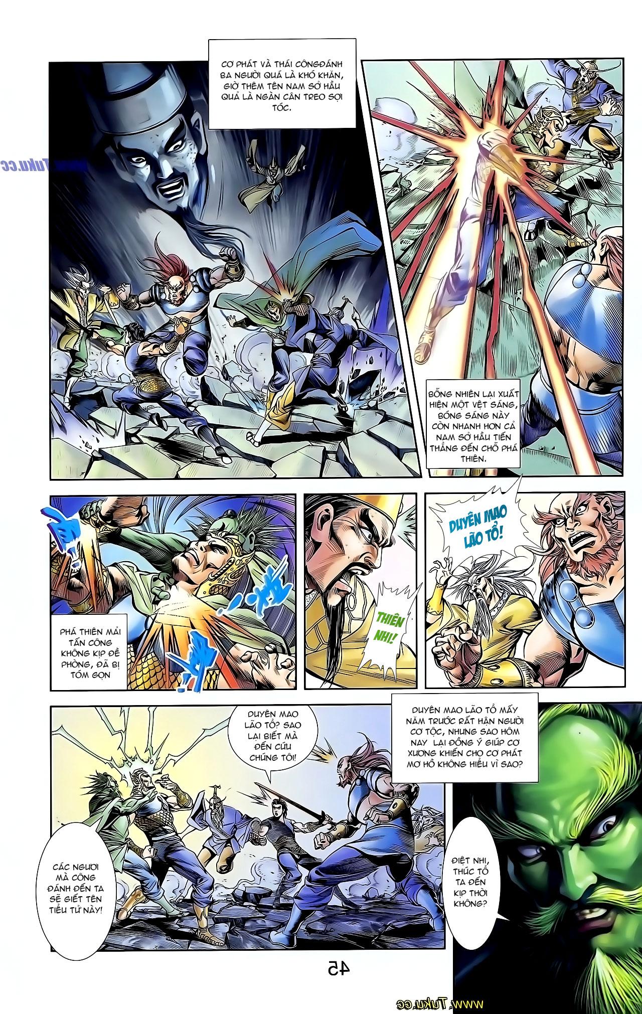 Cơ Phát Khai Chu Bản chapter 126 trang 29