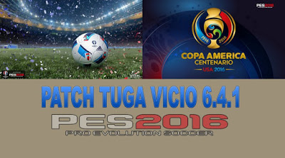 Update Patch PES 2016 dari Tuga Vicio Patch 6.4.1