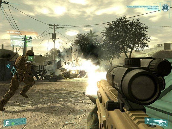 Tom Clancys Ghost Recon Advanced Warfighter PC Full Version Screenshot 3