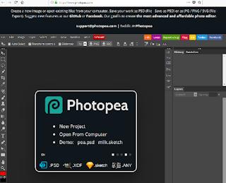 موقع ممتاذ يسمح بفتح ملفات التصميمات من جميع التنسيقات ومن بينها PSD