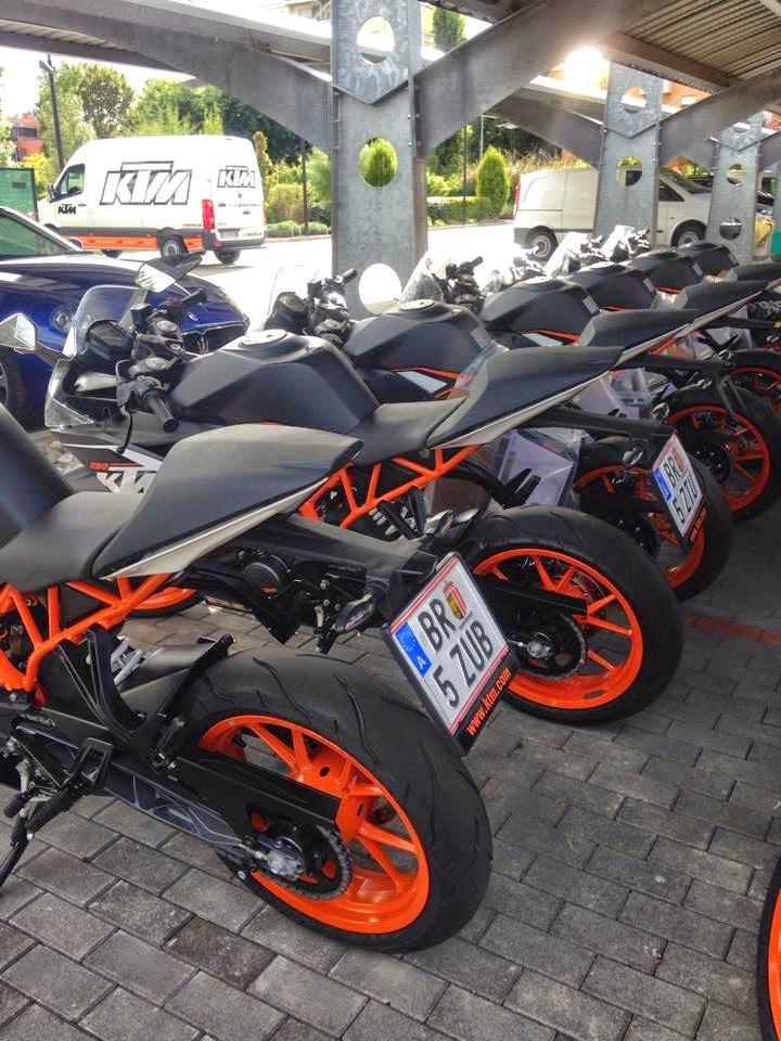 KTM RC Bakal Di lancarkan Di Itali Pada 3 September 2014?