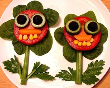 fun nutritious food crafts