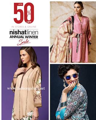 Nishat Linen winter sale