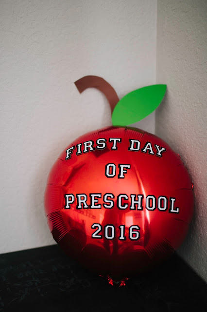 photo prop, back to school photos, apple balloon