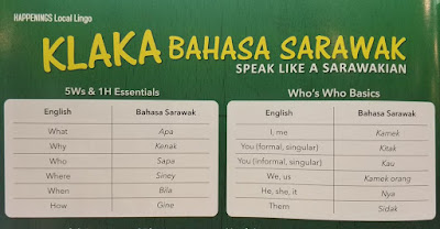 belajar bahasa sarawak, bahasa sarawak, sarawak, mudah belajar bahasa sarawak