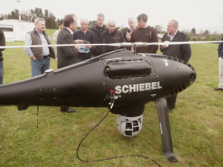 Schiebel Technical Director explains features of the Camcopter