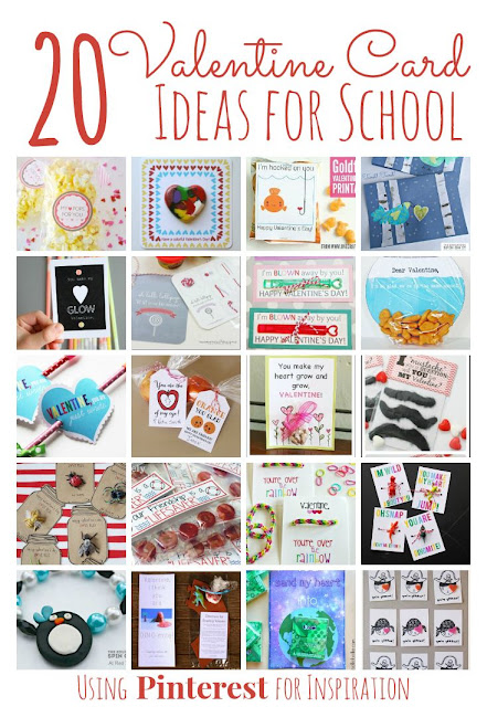 20 Valentine's Day Card Ideas for School inspired by Pinterest