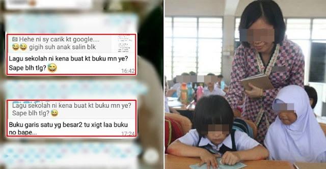 Wanita Bengang Lihat Kerenah Ibu Bapa Biadap Dalam Grup WhatsApp