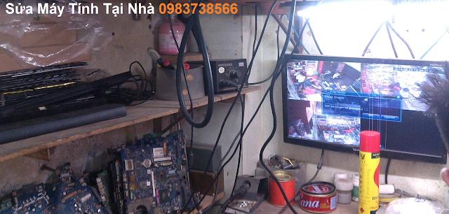 Sửa máy tính tại nhà chùa bộc