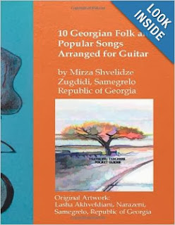 10 Georgian Folk and Popular Songs Arranged for Guitar