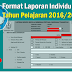 Format Laporan Individu (LI) Tahun Pelajaran 2016/2017