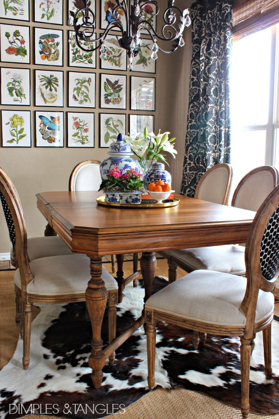 cowhide rugs kitchen table rugs MY THOUGHTS ON COWHIDE RUGS