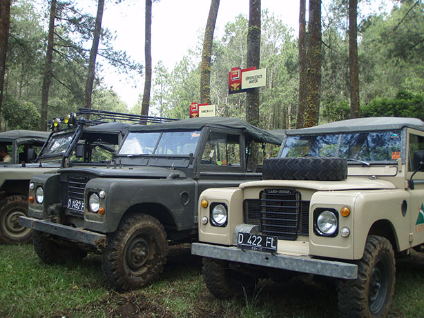 Outbound Offroad Adventure di Bandung