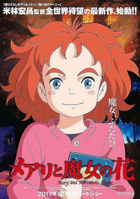 Sinopsis Film Mary and the Witch's Flower (2017)