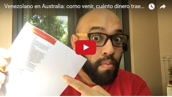 Australia ya no otorga más visas a venezolanos