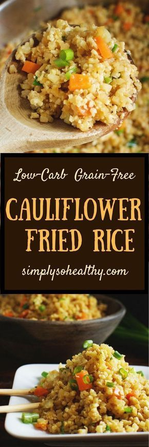 ★★★★☆ 7561 ratings | EASY LOW-CARB CAULIFLOWER FRIED RICE RECIPE #HEALTHYFOOD #EASYRECIPES #DINNER #LAUCH #DELICIOUS #EASY #HOLIDAYS #RECIPE #EASY #LOWCARB #CAULIFLOWER #FRIED #RICE #RECIPE