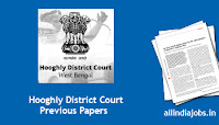 Hooghly District Court Peon Previous Papers