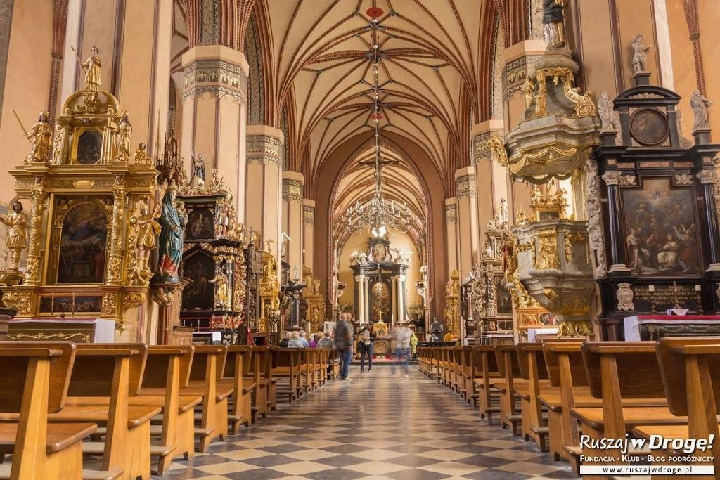 Katedra we Fromborku - piękne zdobienia