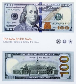 The New 100 Note Unveiled
