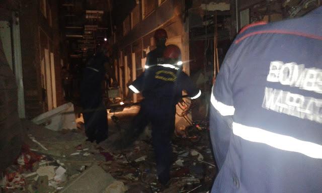 Explosión en el Gran Bazar de las delicias dejó pérdidas totales