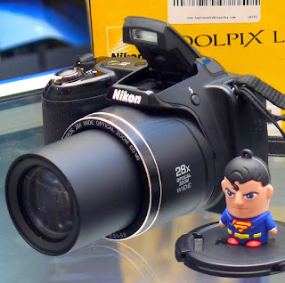 Kamera Prosumer Nikon Coolpix L340 Fullset