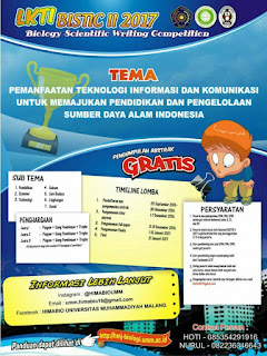 Lomba Karya Tulis Ilmiah - Biology Scientific Writing Competition HIMABIO UMM