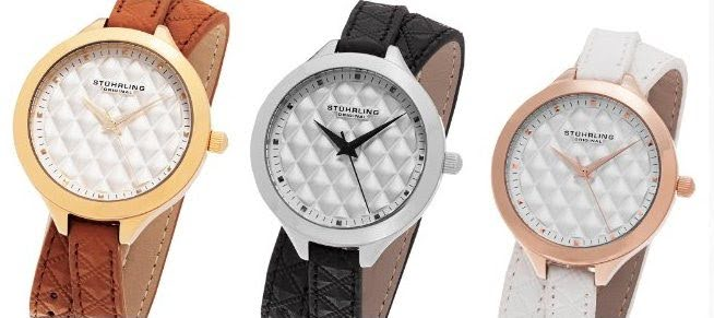 66e0d0ca5 Stuhrling Original Vogue Collection, 658.01 black, 658.02 brown, 658.03  white, Double Wraparound. >>
