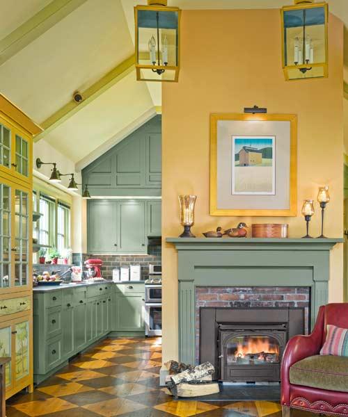 die wohngalerie amerikanische farmhaus einrichtung ein. Black Bedroom Furniture Sets. Home Design Ideas