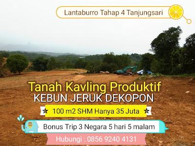 Kavling Buah Lantaburro Tahap 4 Tanjungsari Bogor Jawa Barat Tanah Dijual Murah