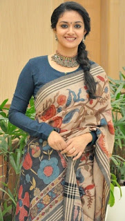 Keerthy Suresh at Mahanati Success Meet 4