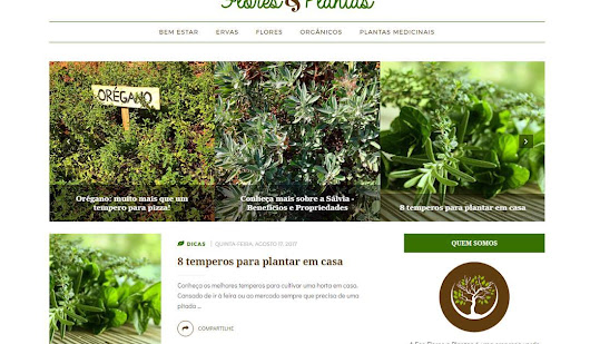 {Identidade Visual + Blog Design} Eco Flores e Plantas