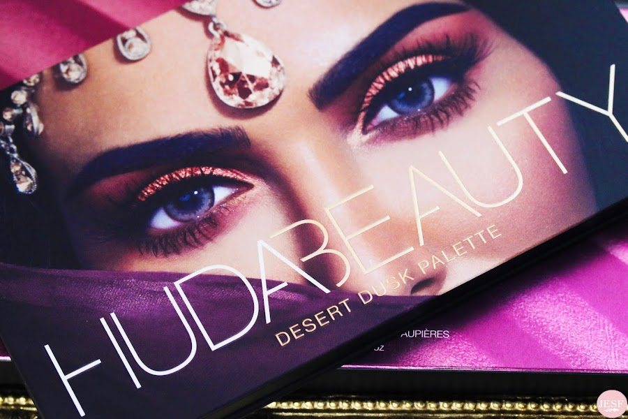 avis makeup swatches palette desert dusk huda beauty