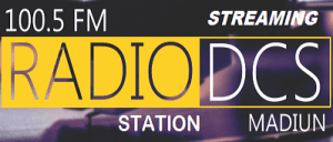 Streaming Radio DCS FM 100.5 MHz Madiun