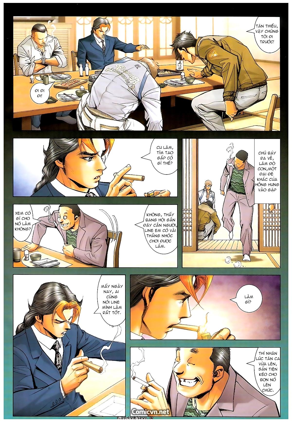 Người Trong Giang Hồ - Chapter 1244: Mắt Hí - Pic 5